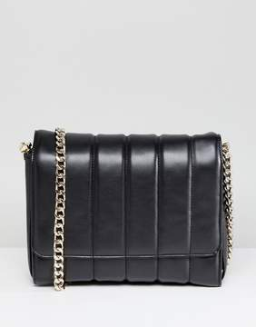 French Connection Large Quilted Crossbody Bag