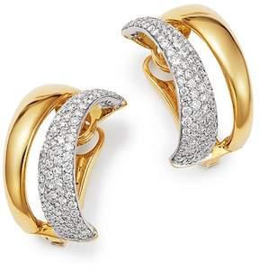 Roberto Coin 18K White & Yellow Gold Scalare Convertible Diamond Earrings