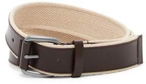Cole Haan Leather & Webbing Belt