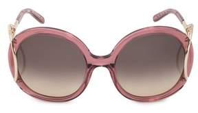 Chloé Round Sunglasses Ce703s 643 56.