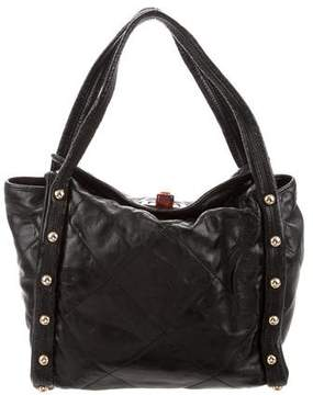 Lanvin Jaisal Studded Leather Tote