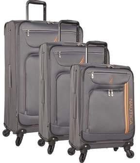 Nautica Washboard 3-Piece Luggage Set