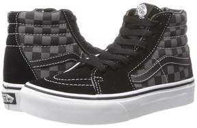 Vans Kids SK8-Hi Black/Pewter) Kids Shoes