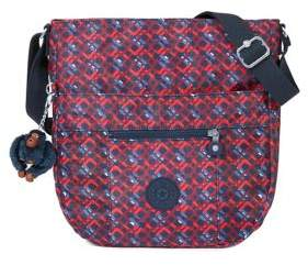 Kipling Groovy Patterned Saddle Bag - GROOVY LINE - STYLE