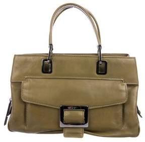 Roger Vivier Leather Handle Bag
