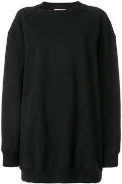 A.F.Vandevorst cutout collar sweatshirt