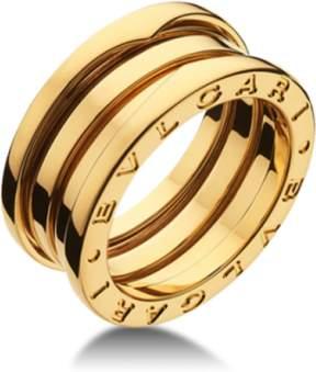 Bulgari Bvlgari B. Zero 1 18K Yellow Gold 3 Band AN191023 Ring
