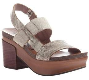 OTBT Womens Indio Leather Open Toe Casual Slingback Sandals.