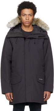 Canada Goose Navy Down and Fur Langford Parka