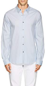 James Perse MEN'S COTTON-BLEND POPLIN SHIRT