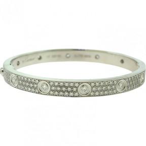 Cartier Love Gold White gold Bracelets