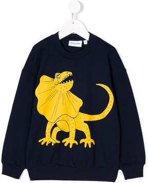 Mini Rodini lizard print sweatshirt