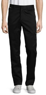 Karl Lagerfeld Stretch-Cotton Cargo Pants