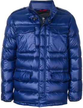 Fay chest pocket padded jacket