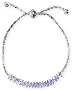 Fallon Toggle Jagged Edge Crystal Bracelet