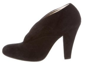 Marc by Marc Jacobs Suede Round-Toe Booties