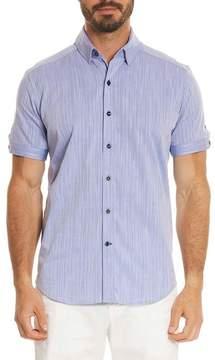 Robert Graham Livingston Regular Fit Short Sleeve Sport Shirt