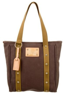 Louis Vuitton Antigua Cabas MM - BROWN - STYLE