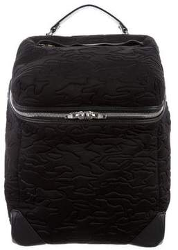 Alexander Wang Neoprene Small Embossed Wallie Backpack
