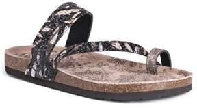 Muk Luks Women's Mikka Toe Loop Sandal