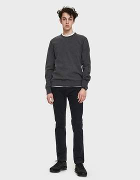 Reigning Champ Classic Terry Crewneck in Heather Charcoal