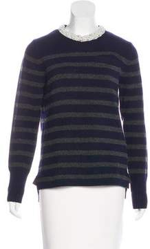 Sacai Luck Embellished Wool Sweater