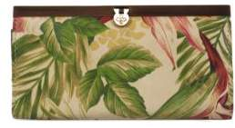 Patricia Nash Cuban Tropical Cauchy Leather Wallet