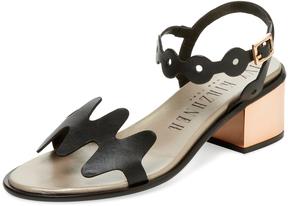 Ivy Kirzhner Women's Lala Mid Heel Sandal