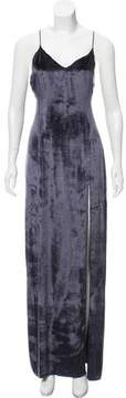 Baja East Velvet Slip Dress w/ Tags