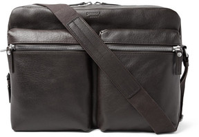 Shinola Leather Messenger Bag