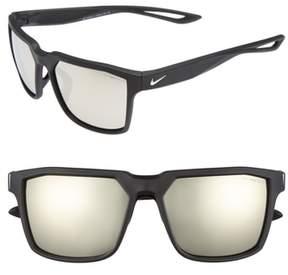 Men's Nike Bandit R 59Mm Sunglasses - Matte Black/ Silver
