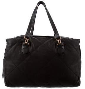 Lanvin Quilted Leather Shoulder Bag