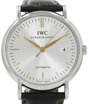 IWC Portfino Stainless Steel Automatic 39mm Mens Watch