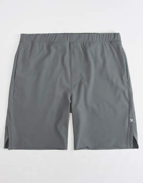 Hurley Alpha Trainer Dark Grey Mens Volley Shorts