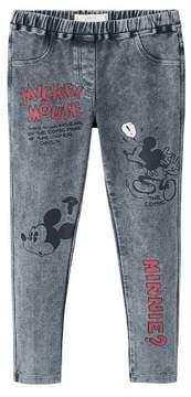 MANGO Mickey Mouse leggings