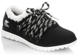 Sorel Cozy Go Faux Fur Sneakers