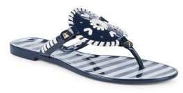 Jack Rogers Striped Georgica Sandals