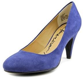 American Rag Felix Women Round Toe Synthetic Blue Heels.