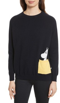 Chinti and Parker Women's Chinti & Parker Moomin Pocket Cashmere Sweater