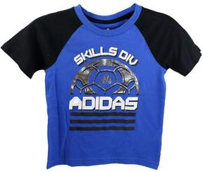 adidas Kids 4-7x Sports Division Tee - Blue - Boys - 7