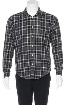 Hartford Plaid Woven Shirt