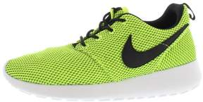 Nike Rosherun Gradeschool Running Shoe,voltblackwhite,3.5 Kids US