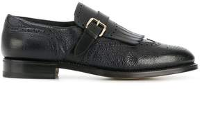 Santoni classic monkstrap shoes