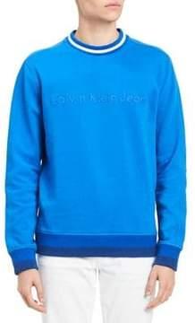Calvin Klein Jeans Tonal Rib Tipping Crewneck Sweatshirt