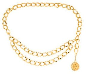 Chanel Multi-Strand Medallion Chain Belt