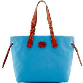 Dooney & Bourke Nylon Shopper Tote - DUSTY BLUE - STYLE