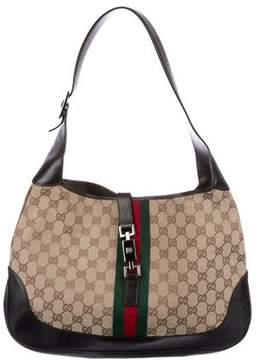 Gucci Large GG Canvas Jackie Hobo