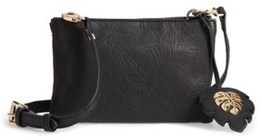 Tommy Bahama Marrakech Leather Crossbody Wallet - Black