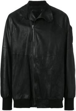 Julius elasticated hem zip jacket