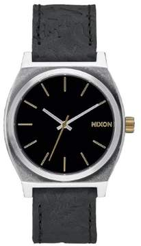 Nixon Time Teller Leather Mens Watch A0452222